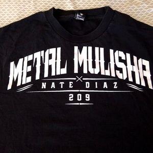 Metal Mulisha Nate Diaz 209 Shirt